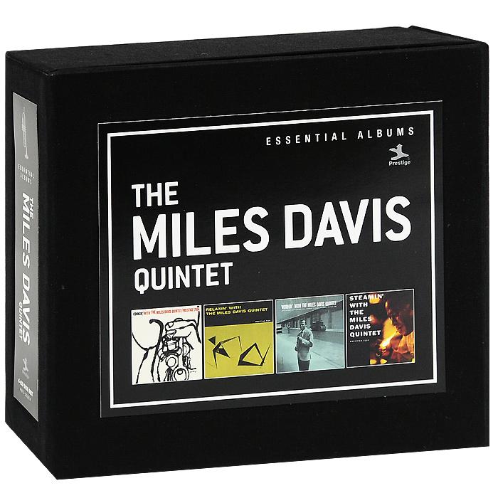 Майлз Дэвис,Джон Колтрейн,Ред Гарланд,Пол Чемберс,Филли Джо Джонс,Miles Davis Quintet The Miles Davis Quintet (4 CD) miles davis jazz cd
