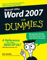 Word 2007 For Dummies® word 98 for macs for dummies