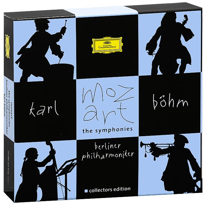 Карл Бем,Berliner Philharmoniker Karl Bohm. Mozart. The Symphonies (10 CD) karl bohm mozart sinfonie concertanti