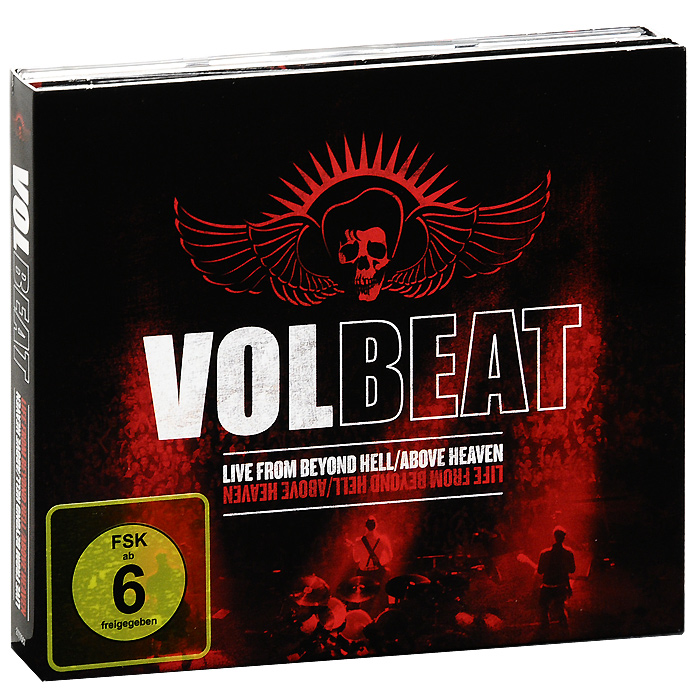 Volbeat: Live From Beyond Hell / Above Heaven (2 DVD + CD) european full copper wall lamp bedroom bedside lamp american living room background wall aisle corridor staircase copper lamp