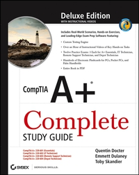 CompTIA A+® Complete Study Guide quentin docter comptia it fundamentals study guide exam fc0 u51