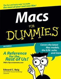 Macs For Dummies® dwight spivey iphone for seniors for dummies