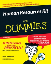 Human Resources Kit For Dummies® human resources kit for dummies®