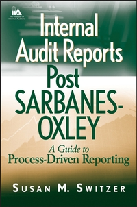 Internal Audit Reports Post Sarbanes–Oxley paul ali international corporate governance after sarbanes oxley