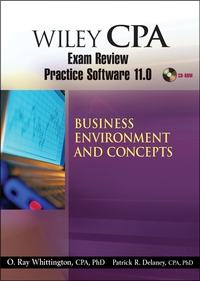 Wiley CPA Examination Review Practice Software 11.0 BEC Revised wiley the wiley trading guide volume ii