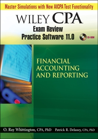 Wiley CPA Examination Review Practice Software 11.0 FAR Revised wiley the wiley trading guide volume ii