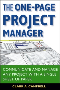 The One–Page Project Manager диван page