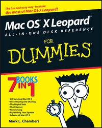 Mac OS® X LeopardTM All–in–One Desk Reference For Dummies® wordpress all–in–one for dummies®