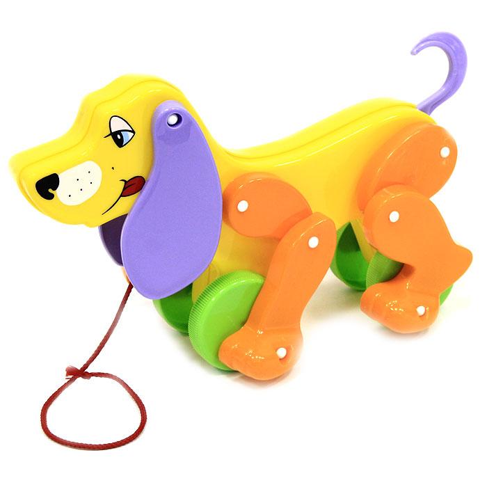 Игрушка-каталка Собака Боби . 5434 в ассортименте, Molto, Первые игрушки  - купить со скидкой