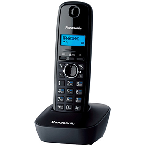 Zakazat.ru Радиотелефон Panasonic KX-TG1611 RUH, Grey