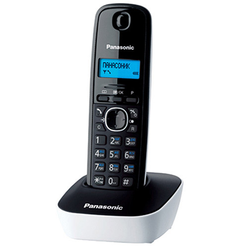 Panasonic KX-TG1611 RUW, White телефон panasonic kx dt546rub черный