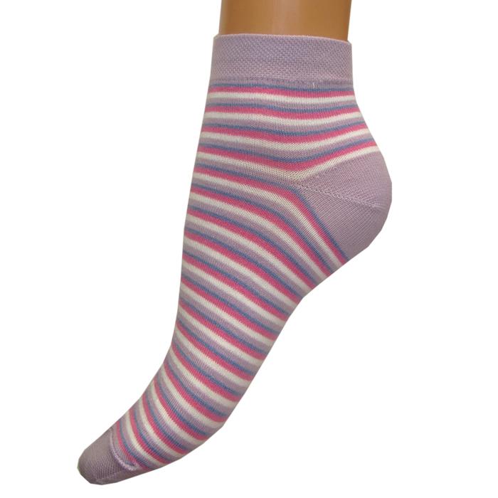 Носки женские Грация, цвет: сиреневый. М1088. Размер 38/40М1088Женские носки Грация, изготовленные из высококачественного сырья, идеально подойдут для вас. Комфортная резинка не сдавливает ногу.Носки всесезонные с укороченным паголенком.