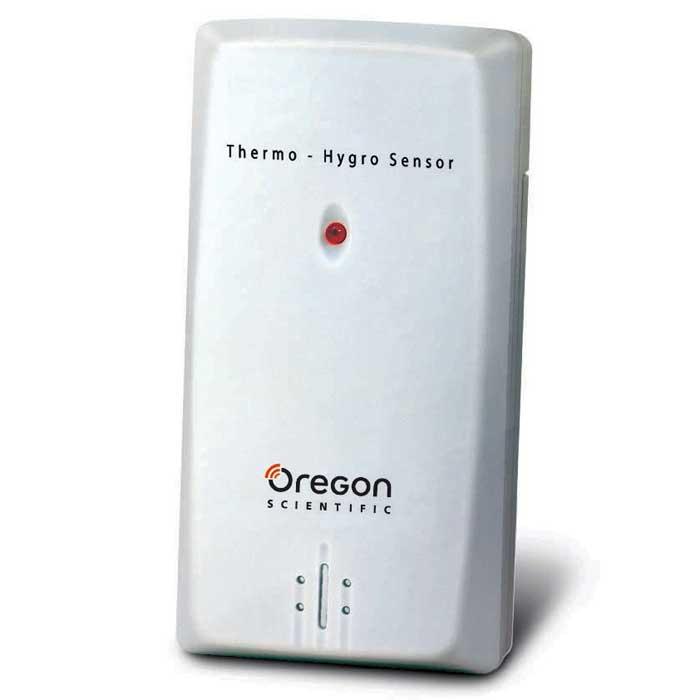 Oregon Scientific THGN132N беспроводной датчик температуры и влажностиTHGN132NOregon Scientific THGN132N - это дистанционный датчик температуры и влажности, совместимы с погодными станциями: BAR206, BAR386, BAR806, BAR339P, BAR339DP, DP200, RMR329P, RMR391P, RRM902, RMR202, RMR382. Позволяет передавать данные на погодную станцию с дальностью до 30 метров.Возможное выставление номеров канала 3Возможность крепления на стенеДиапазон измерения влажности 25% ... 95%, разрешение измерений 1%Частота передачи радиосигнала 433МГцДальность передачи радиосигнала 30 мЦикл определения температуры около 40 секундМерцание светодиода в момент передачи данных на погодную станциюРабочий диапазон температур снаружи помещения от -40.0°C до +70.0°C (-40.0°F to 158.0°F), температурное разрешение 0,1°С (0,2°F)