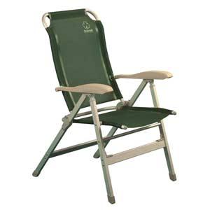 Кресло складное Greenell FC-1071101Кемпинговое кресло с регулировкой наклона спинки. 8 положений фиксируются подлокотниками. Ткань: сетчатый полиэстер - легко моется и устойчив к ультрафиолету. Характеристики:Материал: текстиль, металл. Максимальная нагрузка: 120 кг. Размер кресла: 49 см х 43 см х 42/113 см. Артикул: 71101.