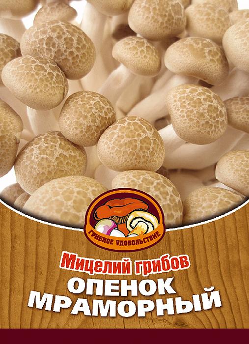 Мицелий грибов Опенок мраморный белый, 16 древесных палочек10032Опенок мраморный белый происходит из Восточной Азии. Мякоть гриба немного хрустящая с ореховым привкусом.Благодаря мицелию грибов Опенок мраморный белый теперь вы без труда сможете вырастить любимые грибы у себя в саду или дома. И уже через 6-9 месяцев после посадки у вас появится первый урожай грибов. За один год можно собрать от 3 до 6 кг грибов с каждого бревна.Для того чтобы вырастить грибы вам понадобится: мицелий Грибное удовольствие, бревно лиственных пород (лучше всего бук, вяз, осина), дрель.Благоприятное время для посадки мицелия Опенок мраморный белый - в природных условиях с апреля по октябрь, в помещении - круглый год. Плодоносят мицелии в среднем от 3 до 5 лет, в зависимости от сорта грибов.Характеристики:Материал:древесная палочка. Размер упаковки:11 см х 15,5 см. Артикул:10032.