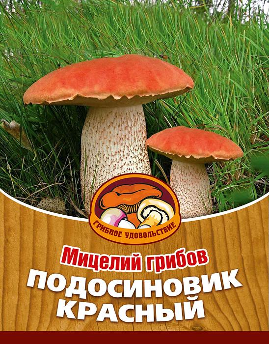 Мицелий грибов Подосиновик красный, субстрат. Объем 60 мл мицелий грибов вешенка рожковидная на 16 древесных палочках