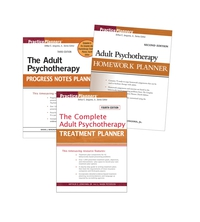 Adult Set– Treatment 4th Edition, Homework 2nd Edition, Progress Notes 3rd Edition