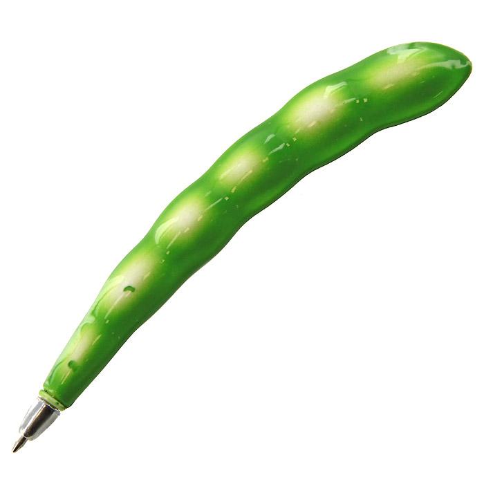 Ручка шариковая Горох, на магните90609Оригинальная шариковая ручка выполнена в виде гороха. Ручка снабжена небольшим магнитом.Такая ручка станет отличным подарком и незаменимым аксессуаром, она несомненно, удивит и порадует получателя. Характеристики:Длина ручки: 13,5 см. Материал: пластик. Производитель:Китай. Артикул: 90609.