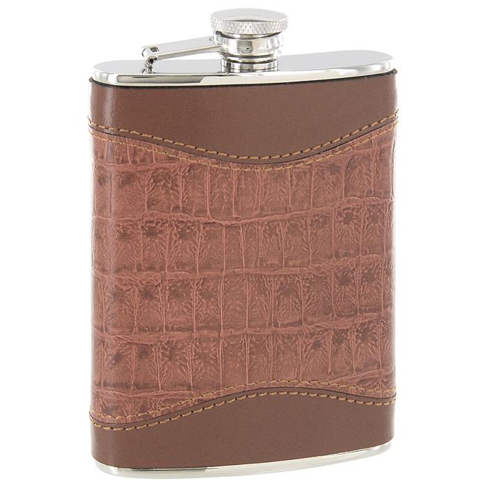 Фляга S. Quire,240 мл. NCTB08-3077NCTB08-3077Металлическая фляга S.Quire предназначена для воды и различных спиртных напитков. Легкая, прочная, удобной формы, такая фляга идеально подходит для походов и путешествий. Фляга выполнена из нержавеющей стали и обтянута искусственной кожей.S.Quire - это коллекция модных, элегантных, стильных аксессуаров для мужчин, разработанная европейскими дизайнерами и отражающая все тенденции современной моды. В коллекцию S.Quire входит широкий ассортимент разнообразных товаров: фляги, заколки для галстуков, запонки, брелоки, бритвенные наборы, кружки, термосы, портсигары, пепельницы, изделия из кожи, винные аксессуары и наборы с различной комплектацией вышеперечисленных аксессуаров. Характеристики: Материал: сталь, искусственная кожа. Размер фляги: 9,5 см х 15 см х 2 см. Объем: 240 мл. Производитель: Италия. Изготовитель: Китай. Артикул: NCTB08-3077.