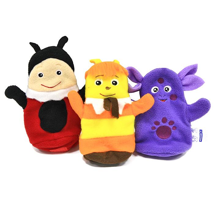 Кукольный театр Би-ба-бо: Лунтик и друзья фигурки игрушки prostotoys пупсень серия лунтик и его друзья