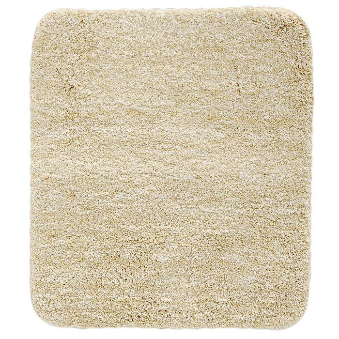 Коврик для ванной комнаты Gobi, цвет: светло-бежевый, 55 х 65 см1012515Коврик для ванной комнаты Gobi светло-бежевого цвета выполнен из полиэстера высокого качества. Прорезиненная основа коврика позволяет использовать его во влажных помещениях, предотвращает скольжение коврика по гладкой поверхности, а также обеспечивает надежную фиксацию ворса. Коврик добавит тепла и уюта в ваш дом.Характеристики:Материал: 100% полиэстер. Размер:55 см х 65 см. Производитель: Швейцария. Изготовитель: Китай. Артикул: 1012515.