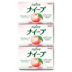 """Мыло """"Kracie"""" c экстрактом персика, 3х90 г"""