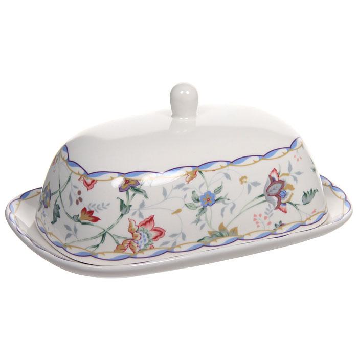 Масленка БукингемIMB0360-A218ALМасленка Букингем, выполненная из высококачественной керамики, прекрасно подойдет для вашей кухни. Она предназначена для красивой сервировки и хранения масла. Характеристики:Материал:керамика.Размер масленки: 17,5 см х 8 см х 12 см.Размер упаковки: 12,5 см х 18,5 см х 8,5 см.Изготовитель: Китай.Артикул: IMB360-A218AL. Изделия торговой марки Imari произведены из высококачественной керамики, основным ингредиентом которой является твердый доломит, поэтому все керамические изделия Imari - легкие, белоснежные, прочные и устойчивы к высоким температурам. Высокое качество изделий достигается не только благодаря использованию особого сырья и новейших технологий и оборудования при изготовлении посуды, но также благодаря строгому контролю на всех этапах производственного процесса. Нанесение сверкающей глазури, не содержащей свинца, придает изделиям Imari превосходный блеск и особую прочность.Красочные и нежные современные декоры Imari - это результат профессиональной работы дизайнеров, которые ежегодно обновляют ассортимент и предлагают покупателям десятки новый декоров. Свою популярность торговая марка Imari завоевала благодаря высокому качеству изделий, стильным современным дизайнам, широчайшему ассортименту продукции, прекрасным подарочным упаковкам и низким ценам. Все эти качества изделий сделали их безусловным лидером на рынке керамической посуды.