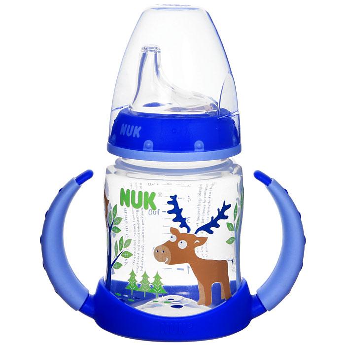 Бутылочка-поильник NUK First Choice, с силиконовым носиком,  в ассорт. 150 мл, от 6 месяцев nuk поильник с 6 месяцев
