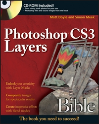 Photoshop® CS3 Layers Bible mcclelland photoshop 3 for windows 95 bible