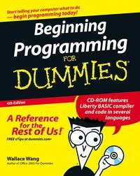 Beginning Programming For Dummies® tony levene investing for dummies uk