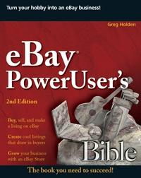 eBay® PowerUser?s Bible