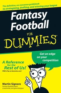 Fantasy Football For Dummies® 2790 fantasy cotw