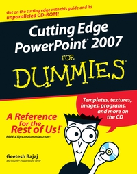 Cutting Edge PowerPoint 2007® For Dummies® dwight spivey iphone for seniors for dummies