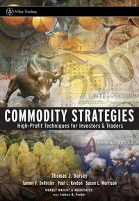 Commodity Strategies evolutionary stable strategies