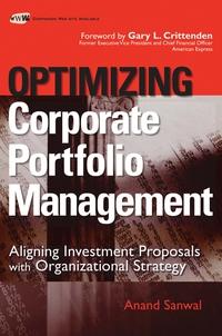Optimizing Corporate Portfolio Management roger stein m active credit portfolio management in practice