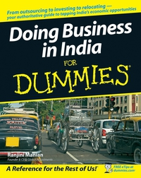 Doing Business in India For Dummies® business networking for dummies