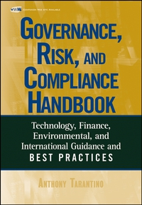 Governance, Risk, and Compliance Handbook christian szylar handbook of market risk