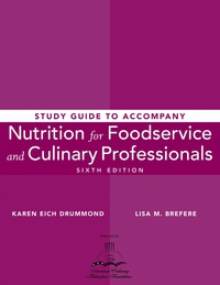 Nutrition for Foodservice and Culinary Professionals design and equipment for restaurants and foodservice