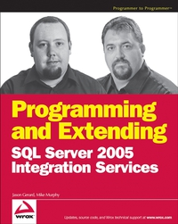 Programming and Extending SQL Server 2005 Integration Services mike davis professional microsoft sql server 2014 integration services