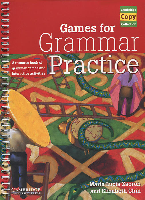 Games for Grammar Practice card tricks and games book