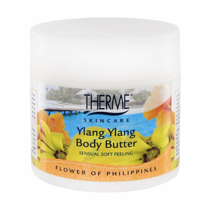 Масло взбитое для тела Therme Иланг-иланг, 250 мл61635Масло взбитое для тела Therme Иланг-иланг является мягким ультра богатым увлажняющим кремом для кожи. Делает даже очень грубую и сухую кожу мягкой и гладкой как шелк. В состав масла для тела входит натуральное масло дерева ши, которое оказывает превосходное действие на кожу. Масло дерева ши содержит витамины А и D, которые восстанавливают кожу, антиокислительный витамин Е и витамин F придают коже невероятную мягкость и эластичность.Растение иланг-иланг родом из Индонезии. Его масло широко известно в мире ароматерапии и косметологии. Воздействуя наэмоциональное состояние, иланг-иланг снимает напряжение, избавляет от беспокойства, пробуждает чувственность. Характеристики:Объем: 250 мл. Производитель: Нидерланды. Артикул:61635. Товар сертифицирован.