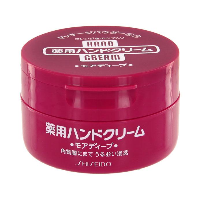 Крем для рук Shiseido, лечебный, питательный, 100 г818650Лечебный питательный крем для рук Shiseido не содержит ароматизаторов. Увлажняющий крем для рук сделан на основе естественных компонентов: ксилитол - восстанавливает водный баланс кожи, способствует уменьшению потери влаги, мочевина - увлажняет и размягчает ороговевшме слои эпидермиса, снимает воспаление, восполняет недостаток влаги в коже, витамин Е - защищает кожу от пересушивания, апельсиновая пудра способствует регенерации клеток, восстанавливает естественную эластичность кожи, содержащиеся в пудре витамины и микроэлементы заряжают клетки кожи энергией. Характеристики:Вес: 100 г. Артикул: 818650. Производитель: Япония. Товар сертифицирован.