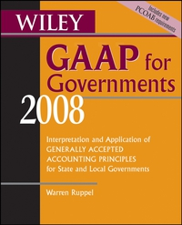 Wiley GAAP for Governments 2008 price waterhouse llp wiley not–for–profit gaap 1998