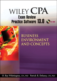 Wiley CPA Examination Review Practice Software 13.0 BEC wiley the wiley trading guide volume ii