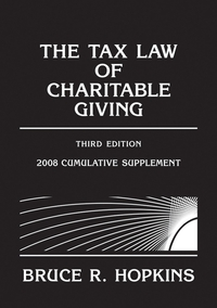 The Tax Law of Charitable Giving the law of tax–exempt healthcare organizations