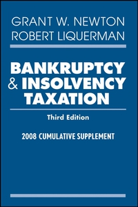 Bankruptcy and Insolvency Taxation edith hotchkiss corporate financial distress and bankruptcy predict and avoid bankruptcy analyze and invest in distressed debt