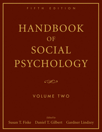 Handbook of Social Psychology, 5th Edition, Volume Two handbook of international economics 3