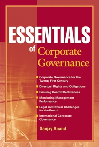 Essentials of Corporate Governance corporate governance and firm value