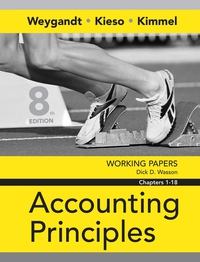 Working Papers Chapters 1–18 to accompany Accounting Principles