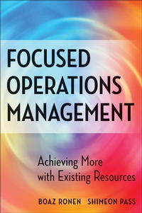 Focused Operations Management computer operations management